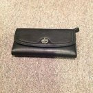 Coach Park Leather Checkbook Wallet, Black, NWT 3
