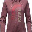 The North Face Women's TriVert Logo Hoody, Renaissance Rose/Grey, XS,  NWT
