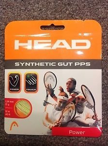 Head Synthetic Gut PPS 17g, Neon Yellow, 7 Packages of String,  NWT