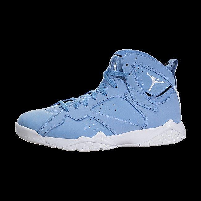 Air Jordan 7 Retro BP Shoe, Carolina Blue, 304773 400, Size 2.5Y, NWT