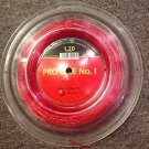 Kirschbaum Pro Line No. 1 Partial Tennis Reel, Red, 1.20g