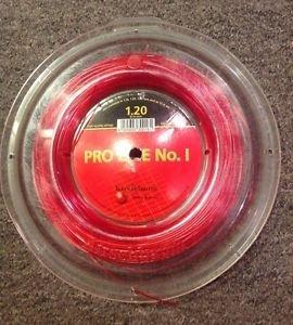 Kirschbaum Pro Line No. 1 Partial Tennis Reel, Red, 1.20g