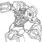 Transformers coloring ebook 80+ pages
