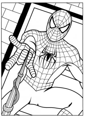 Spiderman coloring ebook 50+ pages