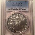 2008 Silver Eagle $1