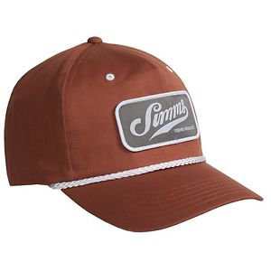 Simms Captain's Cap Snap Back Fishing Hat - UPF 50+ (One Size adjustable) 174K
