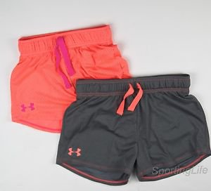 Under Armour Girls' UA RAZZLE Mesh Athletic Shorts 1236074