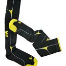 Under Armour BASE 2.0 Compression Running Socks (Large, Black / Taxi) 3703