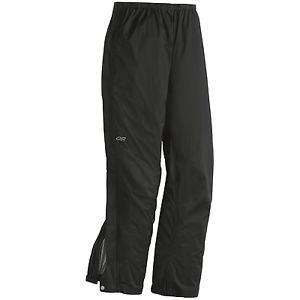 Outdoor Research Men's $139 Revel Lightweight Waterproof Pants Black L XL 55036