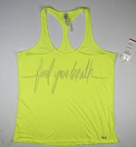 Under Armour Women's UA FIND YOUR BREATH Workout Tank Top (size XL) 1267026