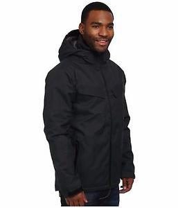 Merrell Men's $259 Crestbound Stealth Waterproof Insulated Jacket JMF22004