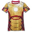Under Armour Boys' UA Alter Ego Fitted Short Sleeve Shirt - Ironman 1246521