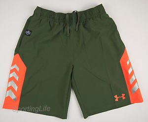 Under Armour Boys' $39 UA NFL COMBINE Authentic Athletic Shorts 1243186