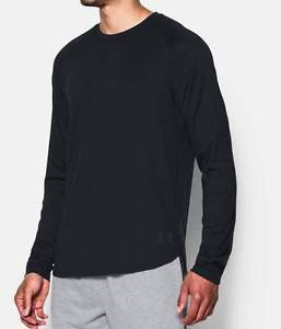 Under Armour Men's UA Pursuit Long Sleeve Tee Shirt (Black or Gray) 1289271