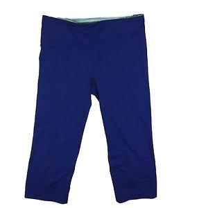 Under Armour Women's $54 UA Perfect Kick Back Capri Pants 1236300 (Small, Blue)