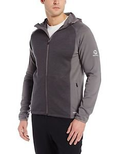 Merrell Men's $109 Alpino Full Zip Fleece Hoodie - size 2XL Gray JMF21389
