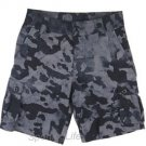 Under Armour Boys' $44 UA Scatter Woven Golf Cargo Shorts - Black Grey 1254500