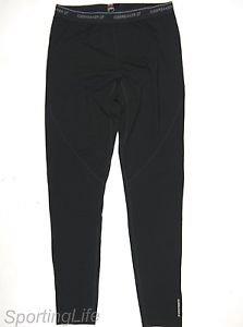 Icebreaker Men's GT 200 Technical Base Layer Wool Pants (Black, XL) 29438