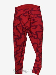 Under Armour Men's UA ColdGear Evo Printed Compression Leggings (Red) 1266015