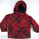 Columbia Boys $130 JAGGED PEAK Everyday Winter Jacket - Red Youth sz 4-5 SH7304
