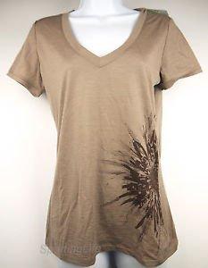 Icebreaker Women's SF150 TECH Chrysanthemum UPF 30+ SS Merino Wool Shirt 100356