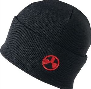 Magpul Logo Watch Hat Fold-over Beanie Winter Cap (Black/Red) 958460