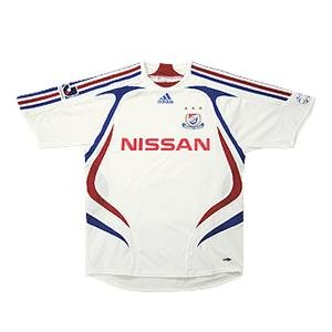 07 Yokohama F-Marinos Soccer Shirt Replica Away Short Sleeve (Standard)