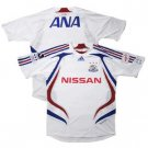 07 Yokohama F-Marinos Soccer Shirt Authentic Away Short Sleeve (Full Sponsor)