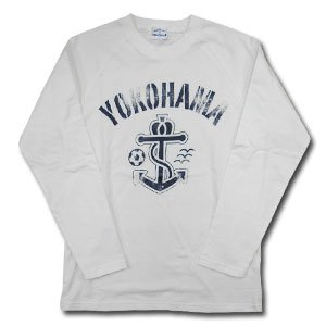07 Anchor Long Sleeve T-Shirt (White)