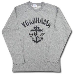07 Anchor Long Sleeve T-Shirt (Gray)