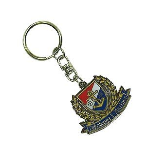 Color Emblem Key Ring