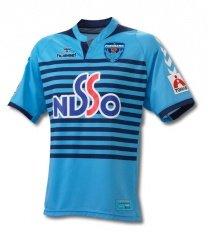 07 Yokohama FC Authentic Home Short Sleeve