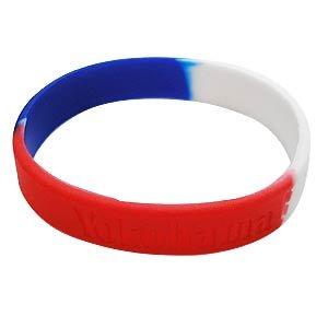 Silicon Tricolore Bracelet