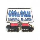 600th Goal Memorial Pin (Oku)