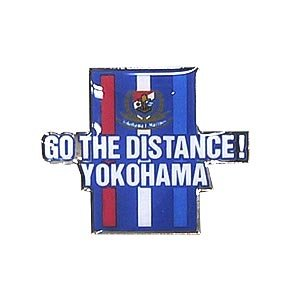 Go The Distance Square Pin