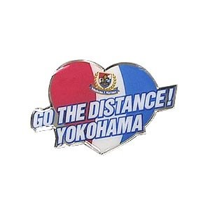 Go The Distance Heart Pin