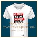 No Trump No KKK No Fascist USA Fabric Iron-on