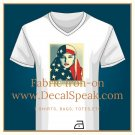 We the People are Greater than Fear Fabric Iron-on