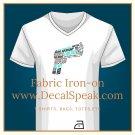 Gun Fabric Iron-on