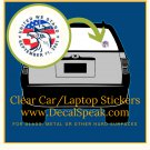 United We Stand September 11, 2001 Clear Car/Laptop Sticker