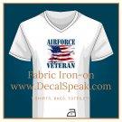 Air Force Veteran #2 Fabric Iron-on