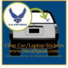 US Air Force Neo Clear Car/Laptop Sticker