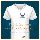 US Air Force Neo Fabric Iron-on