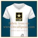 US Army Star Fabric Iron-on