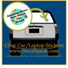 Amazing Grace Clear Car/Laptop Sticker