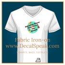 Amazing Grace Fabric Iron-on