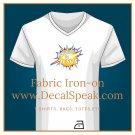 Powered by Jesus Fabric Iron-on