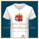 Jesus is Lord Fabric Iron-on