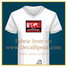 Int'l ISIS Hunting Permit Fabric Iron-on