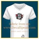 Death Metal Music Fabric Iron-on